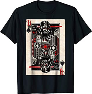 Darth Vader King of Spades Graphic T-Shirt