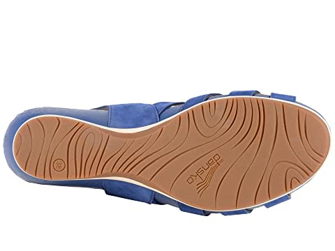 Dansko Valentina Blue Milled Nubuck Great Deals Cheap Price HfxvLn3