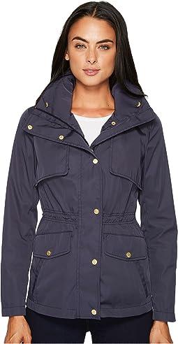 Cole Haan - Zip Front Jacket w/ Placket & Snaps