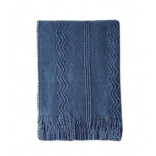 Navy Throw Blanket: Amazon.com
