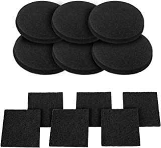 12 Pieces Activated Carbon Filters Compost Bin Replacement Filters