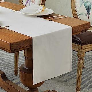 Balcony&Falcon Chemin de Table moderne en Velours, Chemin de Table Elégant Luxe, Décoration de table, chemin de table doux...