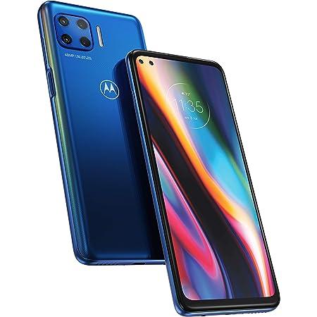 Motorola Moto G 5G Plus - Smartphone 64GB, 4GB RAM, Dual Sim, Surfing Blue