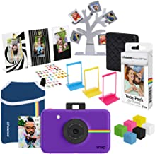 Polaroid Snap Instant Digital Camera (Purple) Ultimate Gift Bundle