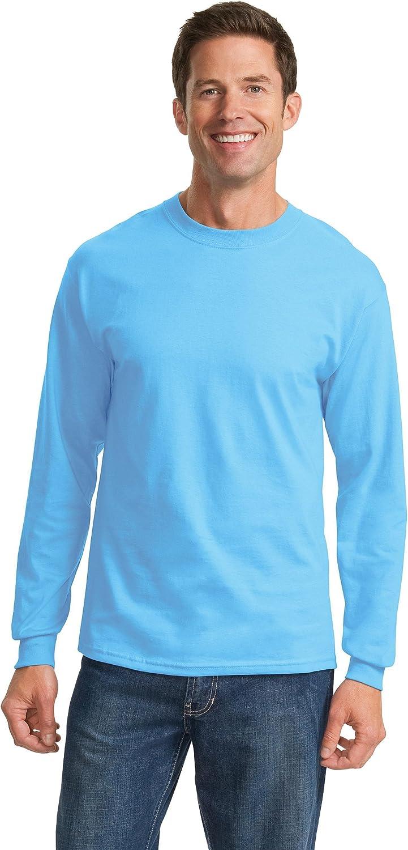 Port & Company - Tall Long Sleeve Essential T-Shirt>LT Aquatic Blue PC61LST