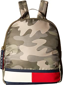 Tommy Hilfiger Nori Flag Camo Nylon Backpack