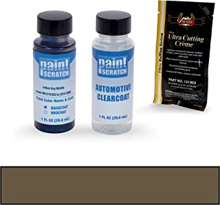 PAINTSCRATCH Iridium Gray Metallic WA121V/GXG for 2016 GMC Sierra - Touch Up Paint Bottle Kit - Original Factory OEM Automotive Paint - Color Match Guaranteed