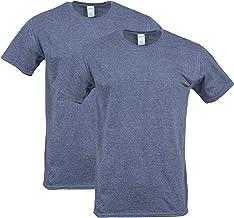 Gildan Men's Softstyle Cotton T-Shirt, Style G64000, 2-Pack