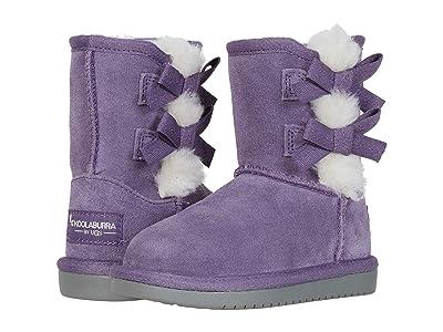 Koolaburra by UGG Kids Victoria Short Boot (Toddler/Little Kid) (Montana Grape) Girl