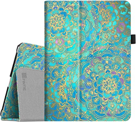 Fintie iPad 9.7 2018/2017, iPad Air 2, iPad Air Case - [Corner Protection] Premium Vegan Leather Folio Stand Cover, Auto Wake/Sleep for iPad 6th / 5th Gen, iPad Air 1/2, Shades of Blue