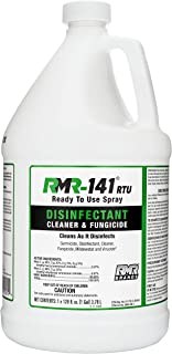 RMR-141 Disinfectant and Cleaner, Kills 99% of Household Bacteria and Viruses, Fungicide Kills Mold & Mildew, EPA Registered, 1 Gallon Bottle.