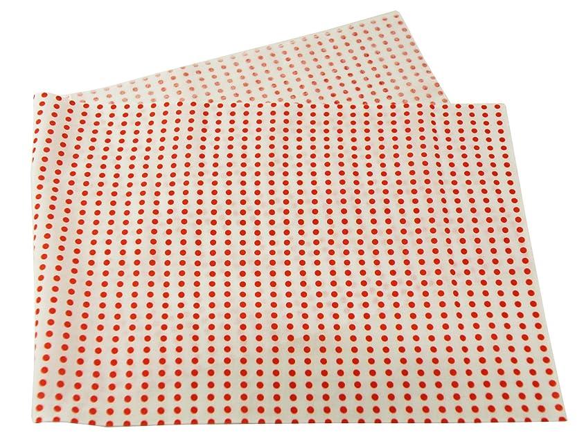 威信ピアノボルト豆絞り 日本手拭い 手ぬぐい (赤)