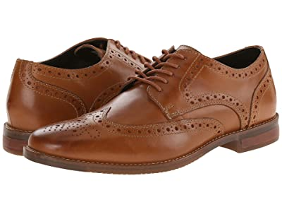 Rockport Style Purpose Wingtip (Tan) Men