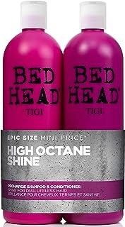 Bed Head by Tigi – Recharge Shine champú y acondicionador para un pelo brillante 2 x 750 ml