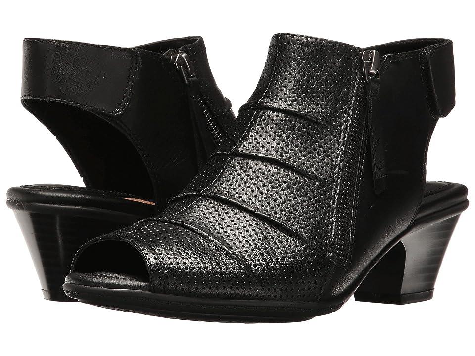 Earth Hydra (Black Soft Leather) Women