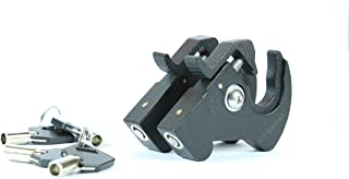 Rotary Docking Latches with Locks for Harley Davidson Sissy Bar Uprights and Luggage Racks