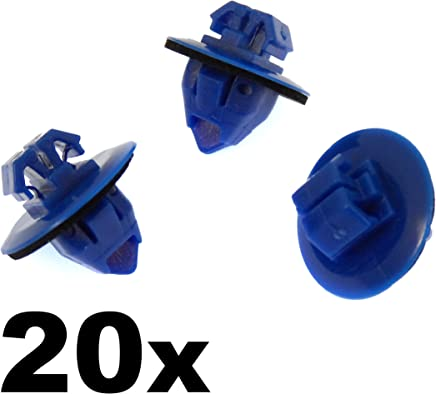 - Veicoli//Auto//Moto 10x plastica tagliare clip//Elementi di collegamento della cornice di plastica bullone di fissaggio//Pin- Torx Testa 51717066229