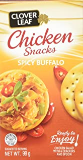 Clover Leaf Chicken Snack Kit Spicy Buffalo, 12 Count