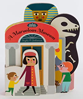 Bookscape Board Books: A Marvelous Museum: (Artist Board Book, Colorful Art Museum Toddler Book)