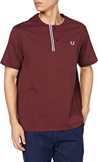 [フレッドペリー] Tシャツ HENLEY NECK T-SHIRT F1841 メンズ