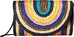 BSB1739 - Wheat Straw Rainbow Crossbody