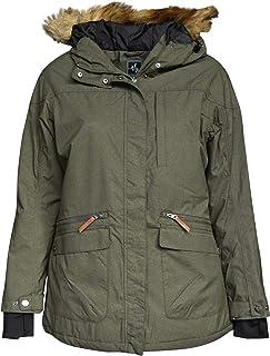 c21df177520 Pulse Women s Plus Size Extended Insulated Parka Societe Coat