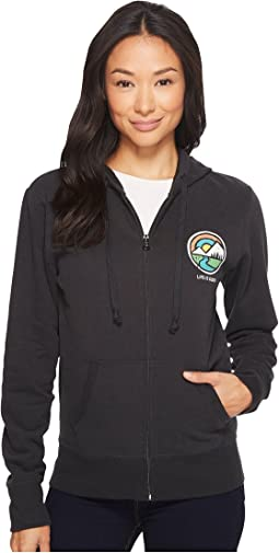 Life is Good - Mountain Circle Go-To Zip Hoodie