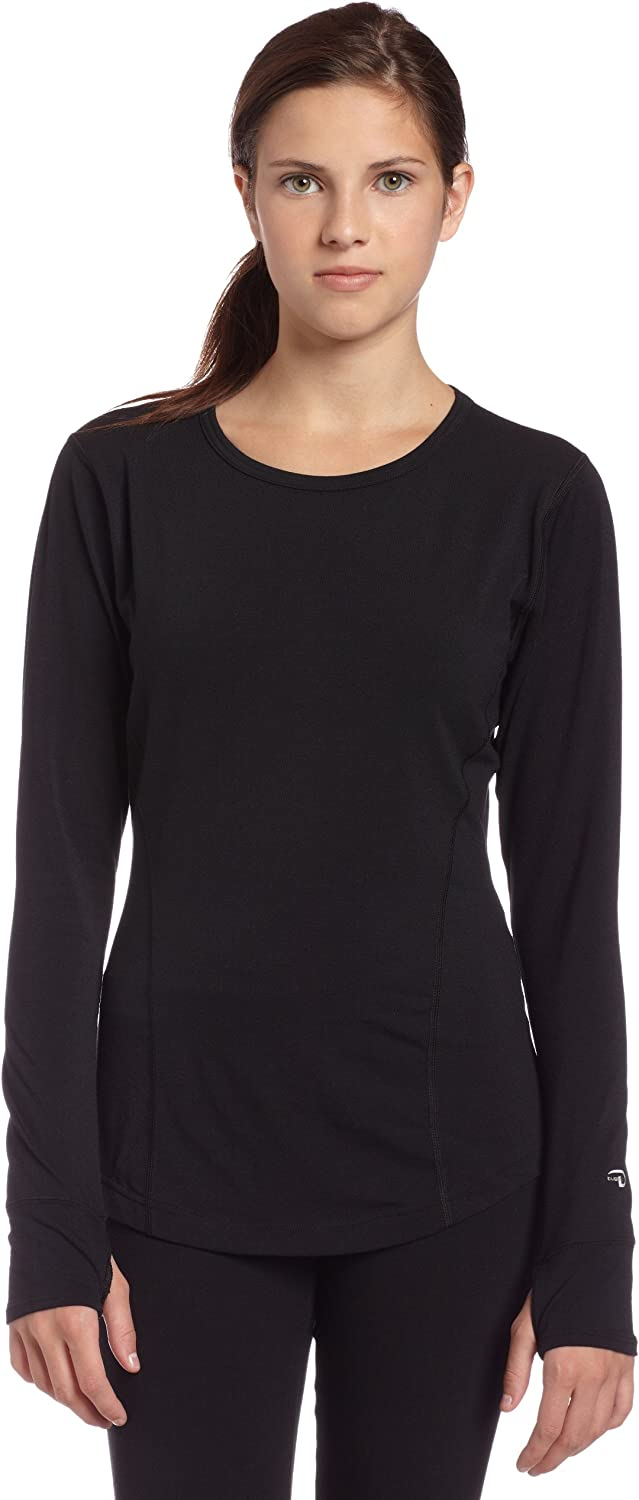 Duofold Women's Dri-Release Wool Mid-Weight Single Layer Thermal Long Sleeve Crew