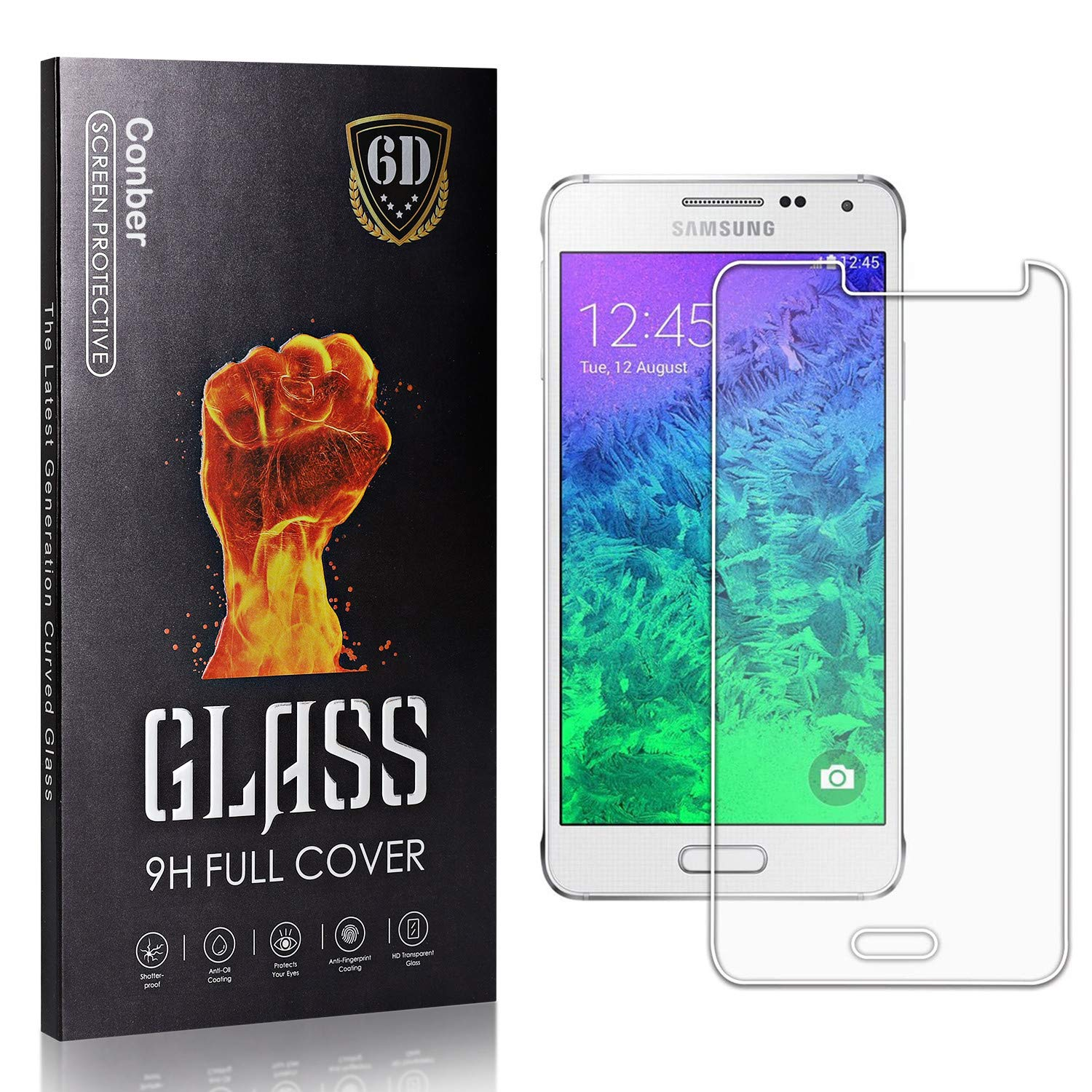 Conber Spasm price 4 Pack Screen Protector G850F Galaxy Alpha wholesale Samsung for