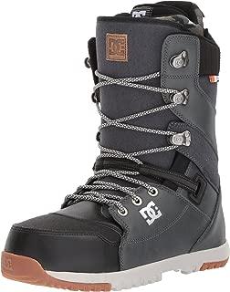 DC Men's Mutiny Lace Snowboard Boots, Dark Shadow, 8