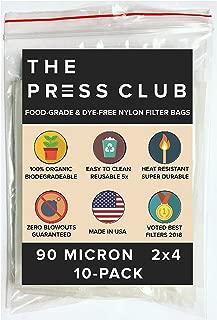 90 Micron | Premium Nylon Rosin Tea Filter Screen Press Bags | 2