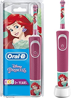 Oral-B Cocuklar Icin Şarj Edilebilir Diş Fırçası D100 Prenses Ozel Seri, Pembe
