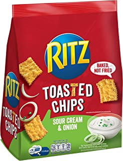 Ritz Toasted Chips Sour Cream, 229 g