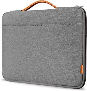 "Inateck 13-13.3"" Sleeve Case Cover Briefcase Compatible 13"" MacBook Air(Including 2018)/MacBook Pro(Retina) 2012-2015, 2018/2017/2016, Surface Pro 3/4/5/6,Dark Gray"