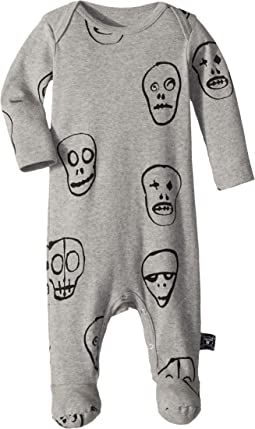 Nununu - Skull Mask Footed Overall (Infant)