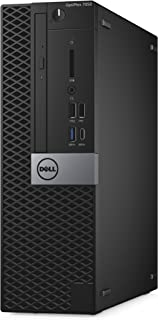 Dell OptiPlex 7050 Small Form Factor Desktop Computer, Intel Core i5-7500, 8GB DDR4, 256GB Solid State Drive, Windows 10 Pro (1735H)