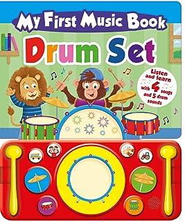 My First Music Book: Drum Set (Sound Book), 1
