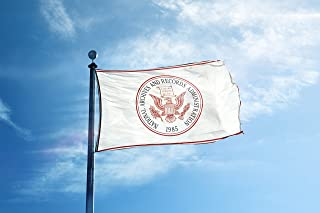 Seal National Archives Records Administration Garage Hangar Basement Flag 3x5 Feet
