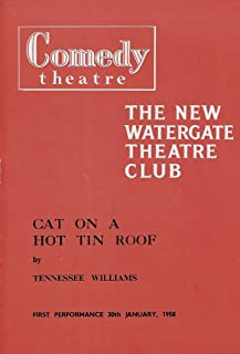 "Kim Stanley""CAT ON A HOT TIN ROOF"" Paul Massie/Leo McKern/Tennessee Williams 1958 London Playbill("