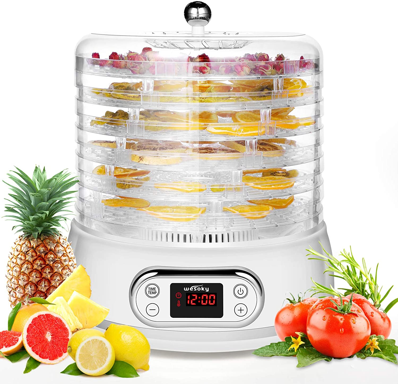 Ranking TOP8 Food Dehydrator Machine 6 Trays Dryer for Gift Inexpensive Fruit Dehydrators