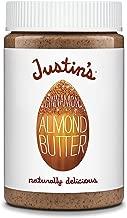 Justin's Cinnamon Almond Butter, No Stir, Gluten-free, Non-GMO, Responsibly Sourced, 16oz Jar