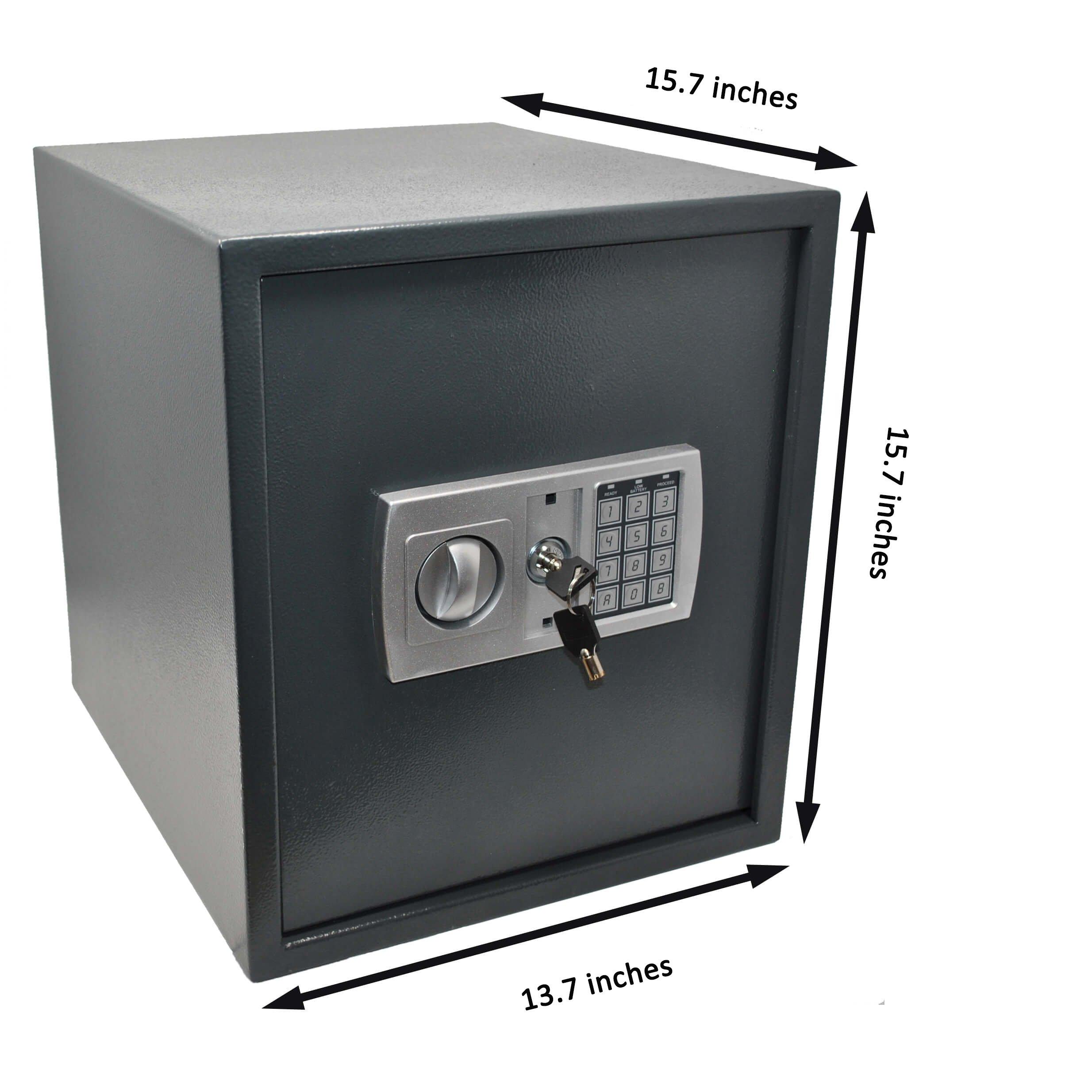 Genie Hand Caja Fuerte Digital A Tiempo Grande De Deposito: Amazon.es: Electrónica