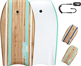 THURSO SURF Quill 42'' Bodyboard Lightweight Durable EPS Core IXPE Deck HDPE Slick Bottom FRP Stringer Crescent Tail Dual ...