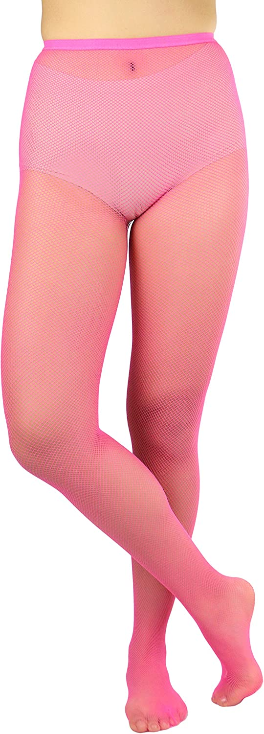 ToBeInStyle Women's Fishnet Seamless Full Footed Panty Hose Tights Hosiery