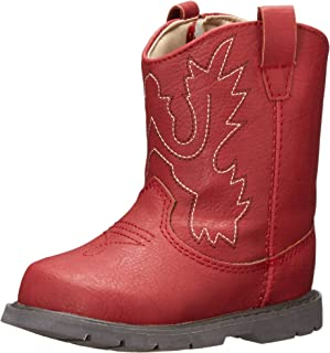 toddler girl red boots
