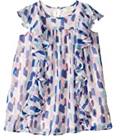 Kate Spade New York Kids - Brush Strokes Ruffle Dress (Toddler/Little Kids)