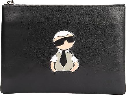 Benloroo Mens Top Grain Leather Zip Around Checkbook Wallets