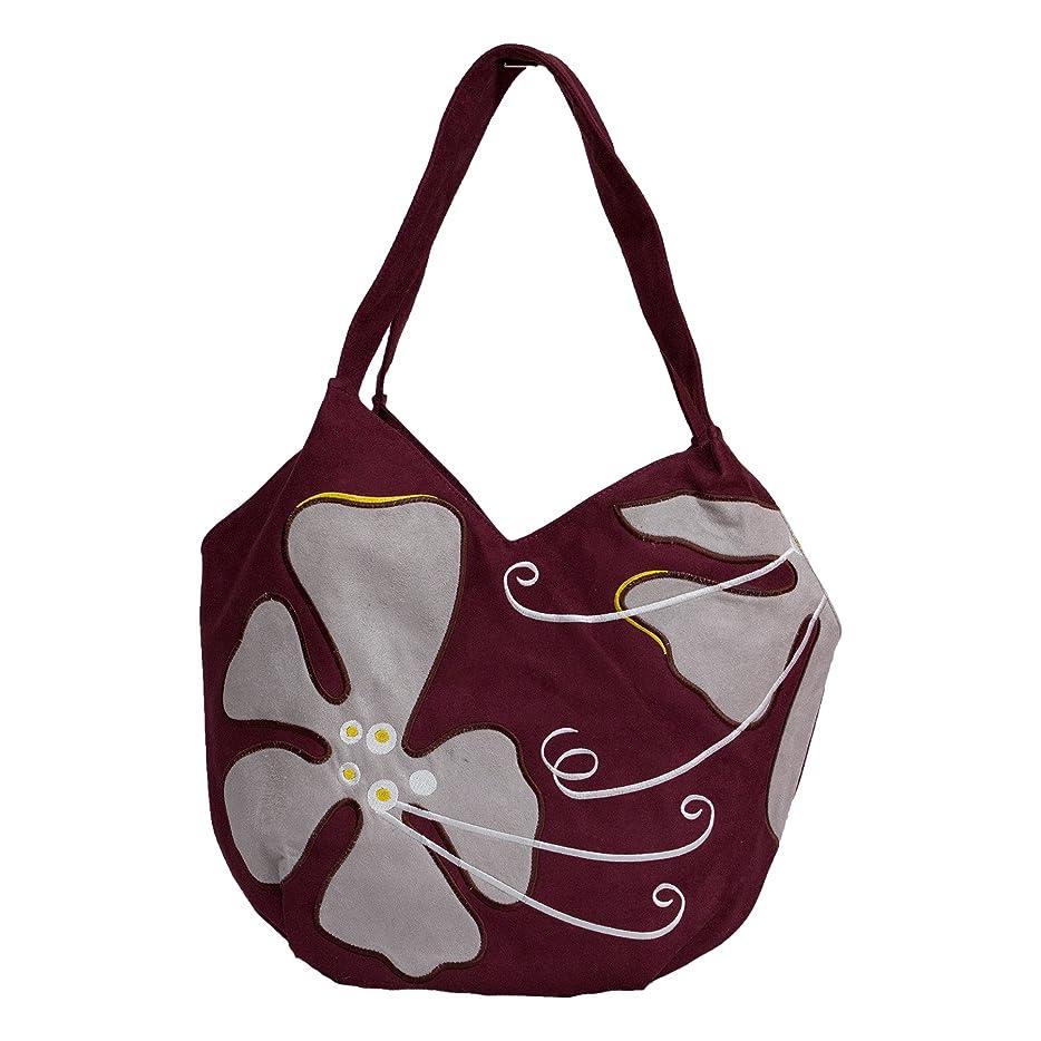 冷ややかな秋愛撫刺繍バッグ