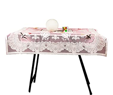 CHANDER Multipurpose Small Square nett Table Cover