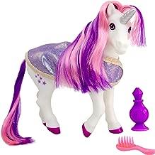 "Breyer Color Changing Bath Toy, Luna The Unicorn, Purple / Pink / White with Surprise Blue Color, 8.5"" x 7"""